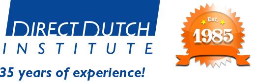 Welcome to the Direct Dutch institute, The Hague. We provide effective courses for foreigners wishing to acquire an active command of Dutch while staying in the Netherlands.